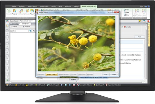 homeopathy software