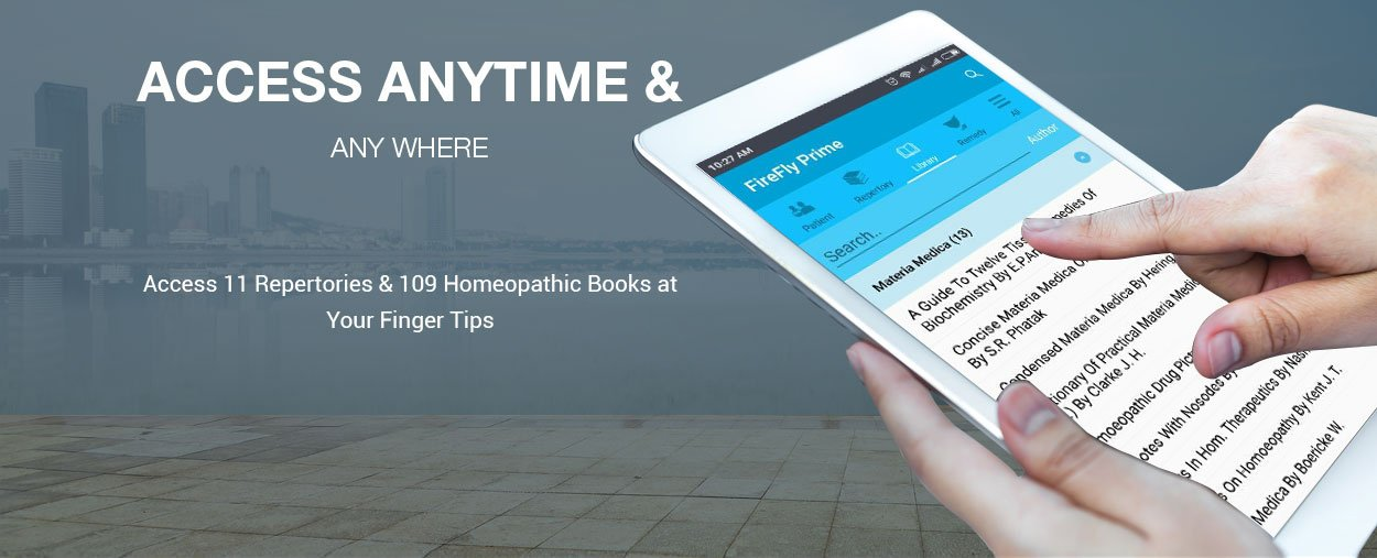 Homeopathy learning solution