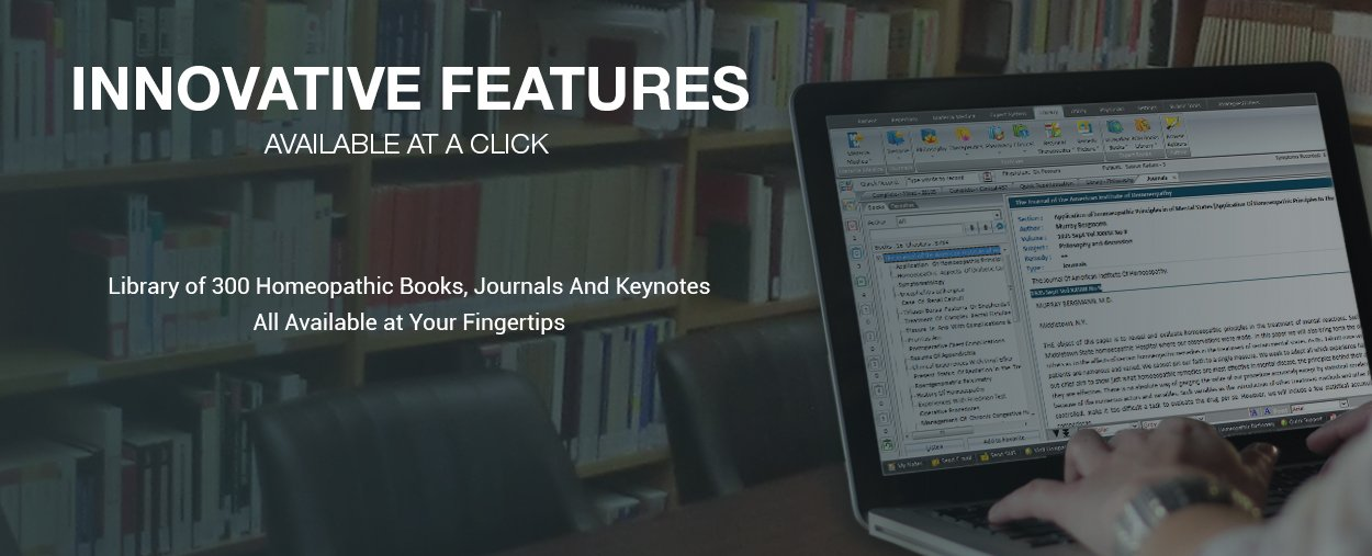 Library Homeopathy books