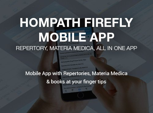 Complete Homeopathy Mobile App - Hompath Firefly