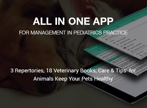Veterinary Homeopathy Mobile App, Hompath Vet Repertory App