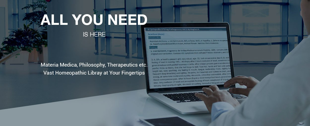 materia medica philosophy therapeutics